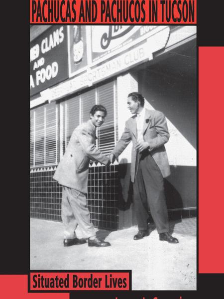Book  cover with two pachuos greeting