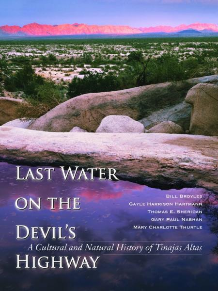 Book cover with Sonoran desert scenery